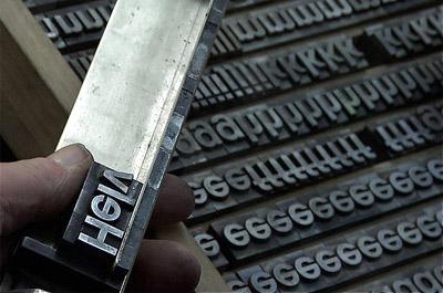 scene from Helvetica film