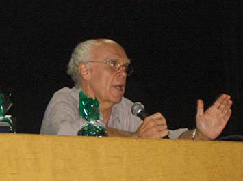 Pedrão durante palestra em Vitória