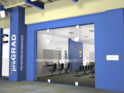 fachada da PROGRAD, conforme o projeto