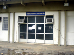 fachada da PROGRAD, antes o projeto